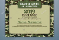 Boot Camp Internship Program Certificate Template Design Throughout Boot Camp Certificate Template