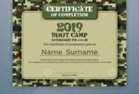 Boot Camp Internship Program Certificate Template Stock Pertaining To Boot Camp Certificate Template