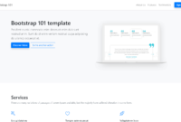 Bootstrap 4 Tutorial – Learn Bootstrapbuilding A Page regarding Html5 Blank Page Template