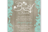 Bridal Shower Invitations Blank Templates | Wedding Shower Throughout Blank Bridal Shower Invitations Templates