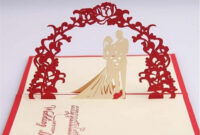 Bride And Groom Wedding Invitations Wording Hosting Their within Pop Up Wedding Card Template Free