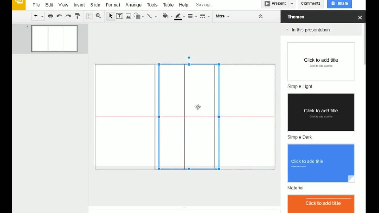 Brochure (Step 1) - Google Slides - Creating A Brochure Template In Google  Slides Intended For Brochure Template For Google Docs