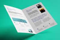Brochure Template Archives – Atlantaauctionco with regard to 2 Fold Brochure Template Psd