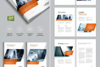 Brochure Template For Indesign – A4 And Letter | Amann for Brochure Template Indesign Free Download