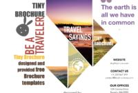 Brochure Travel Template Brochure Travel Templates Brochure in Word Travel Brochure Template