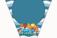 Bubble Guppies Free Party Printables. | First Birthday Theme with regard to Bubble Guppies Birthday Banner Template