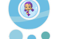 Bubble Guppies Hanging Decorations Printable | Bubble Guppie intended for Bubble Guppies Birthday Banner Template