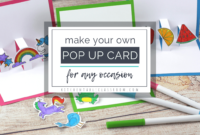 Build Your Own 3D Card With Free Pop Up Card Templates – The in Pop Up Card Templates Free Printable