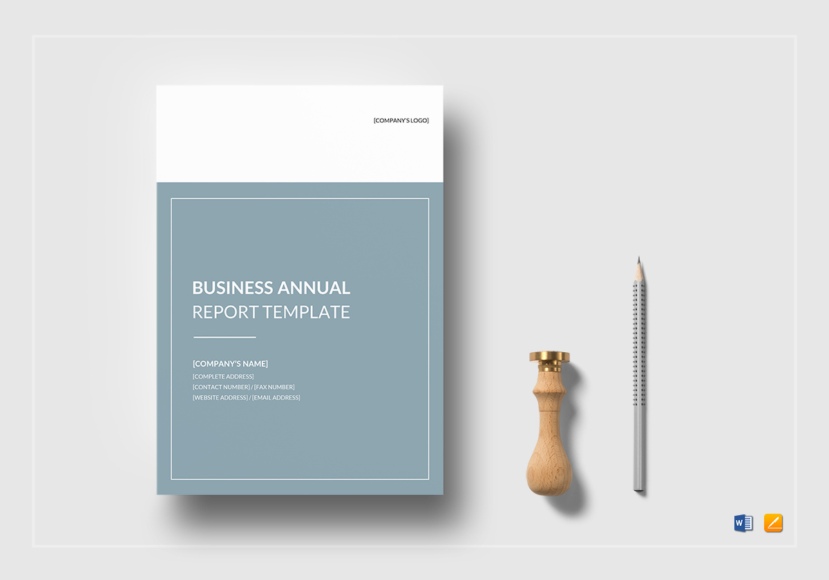 Business Annual Report Template Regarding Annual Report Word Template