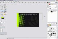 Business Card Design – Gimp 2.0 – in Gimp Business Card Template