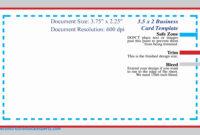 Business Card Font Size Letters Photoshop Minimum Guide inside Business Card Template Size Photoshop
