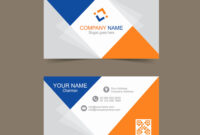 Business Card Layout Illustrator Size Template Free Download in Adobe Illustrator Business Card Template