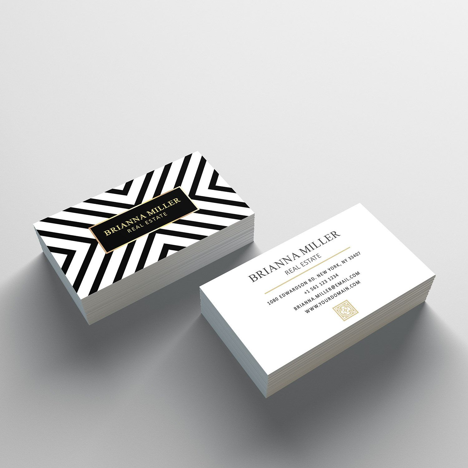 Business Card Template - 2 Sided Business Card Design Intended For 2 Sided Business Card Template Word