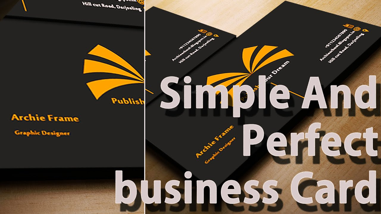 Business Card Templates - Create Your Own - Photoshop For Create Business Card Template Photoshop