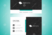 Business Card Vector Template Stock Vector – Illustration Of inside Adobe Illustrator Card Template