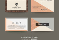Business Cards For Coffee Shop Or Company intended for Coffee Business Card Template Free