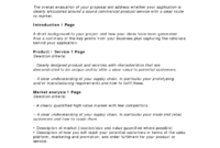 Business Proposal Templates Examples   Business Proposal for Free Business Proposal Template Ms Word