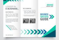 Business Tri Fold Brochure Template Design With with Adobe Illustrator Tri Fold Brochure Template