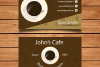 Byteknight Designs | Cafe/ Coffee Shop Business Card Design within Coffee Business Card Template Free