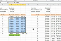 Calculating Credit Card Payments In Excel 2010 with regard to Credit Card Interest Calculator Excel Template