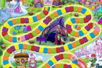 Candyland Board Game Template – Xyztemplates intended for Blank Candyland Template