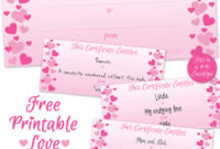 Can't Find Substitution For Tag [Post.body]–> Printable with regard to Love Certificate Templates