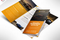 Car Dealer And Services Trifold Brochure Free Psd inside 3 Fold Brochure Template Psd Free Download