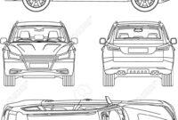 Car Line Draw Insurance, Rent Damage, Condition Report Form Blueprint regarding Car Damage Report Template