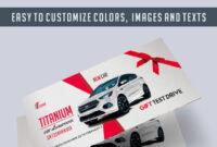 Car Showroom – Premium Gift Certificate Psd Template throughout Automotive Gift Certificate Template