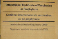 Carte Jaune – Wikipedia with regard to Certificate Of Vaccination Template