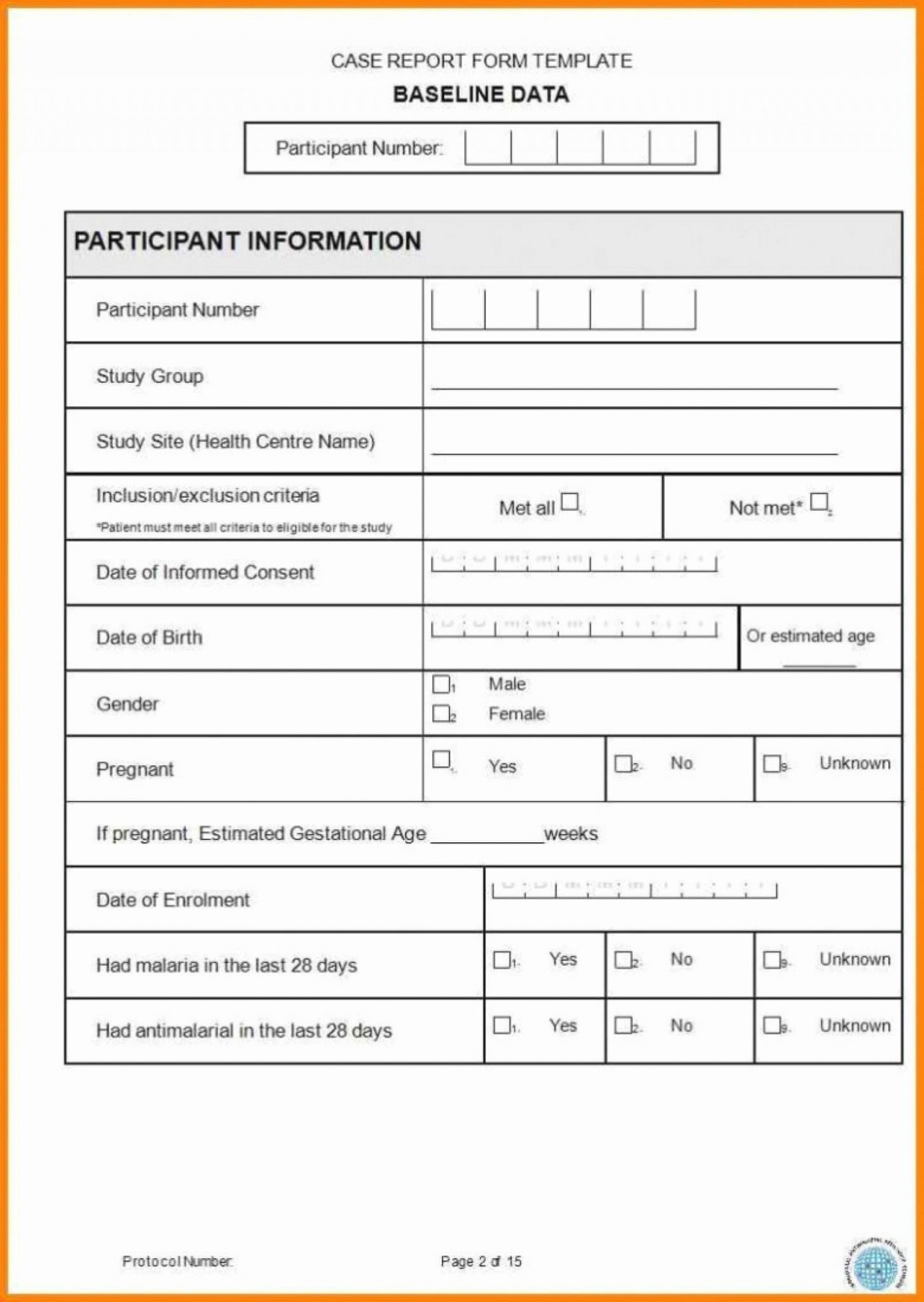 Case Report Form Template Unique Catering Resume Clinical In Case Report Form Template
