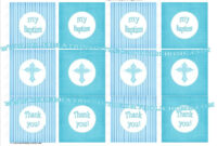 Celebrations In The Catholic Home: Diy – Printable Blue pertaining to Christening Banner Template Free