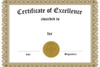 Certificate – Google Search | Frames | Certificate Of In Award Of Excellence Certificate Template