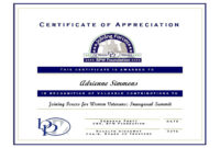 Certificate Of Appreciation For Guest Speaker Template throughout Certificate Of Participation In Workshop Template