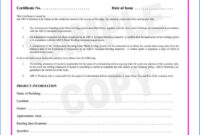 Certificate Of Completion Construction Sample #2562 pertaining to Construction Certificate Of Completion Template
