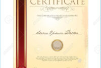 Certificate Scroll Template #8990 for Scroll Certificate Templates