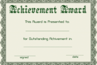 Certificate Template Free Download Powerpoint   Style With Regard To Award Certificate Template Powerpoint
