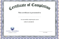 Certificate Template Free Printable – Free Download for Blank Certificate Templates Free Download