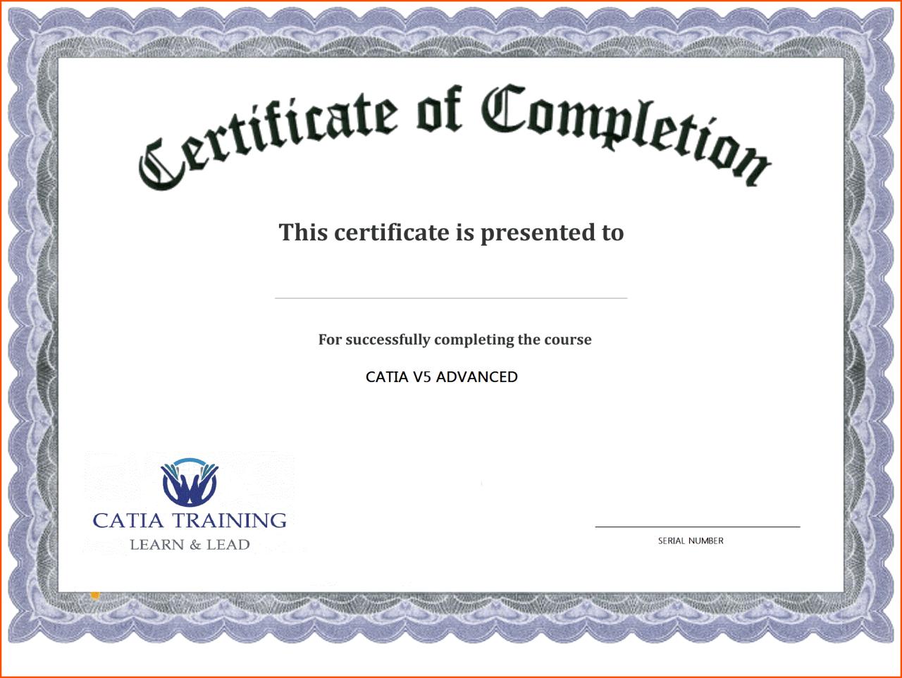 Certificate Template Free Printable - Free Download For Blank Certificate Templates Free Download