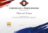 Certificate Template In Rugby Sport Theme With Vector Image within Rugby League Certificate Templates