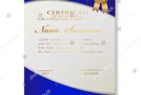 Certificate Template Luxury Modern Pattern Qualification throughout Qualification Certificate Template