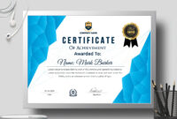 Certificate Templatecreative Touch On Dribbble with regard to Landscape Certificate Templates