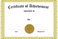 Certificates: Astounding Certificate Template Free Sample within Blank Certificate Templates Free Download