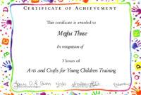 Certificates. Cool Free Kids Certificate Templates Ideas within Free Kids Certificate Templates