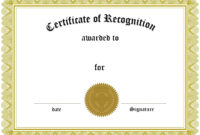 Certificates. Simple Award Certificate Templates Designs within Template For Certificate Of Award
