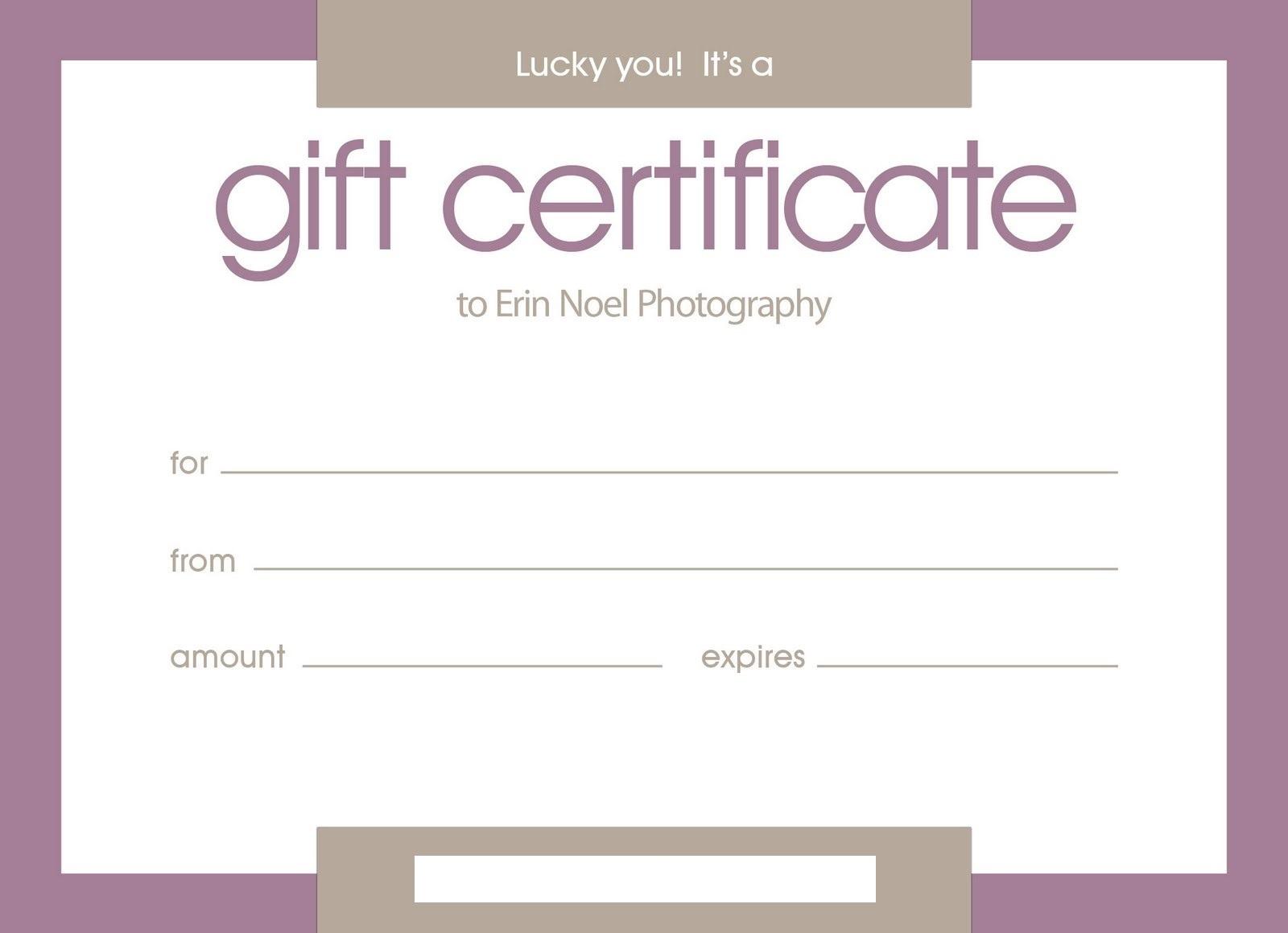 Certificates: Stylish Free Customizable Gift Certificate Inside Printable Gift Certificates Templates Free