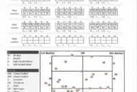 Charted And Recorded Bullpen Chart | Your Next Pitch for Baseball Scouting Report Template