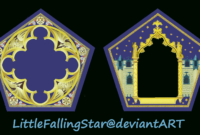 Chocolate Frog Cardlittlefallingstar.deviantart On with Chocolate Frog Card Template
