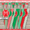 Christmas Banner Template – Red & Green With Regard To Merry Christmas Banner Template