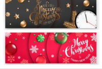 Christmas Banners Template Merry Christmas And intended for Merry Christmas Banner Template